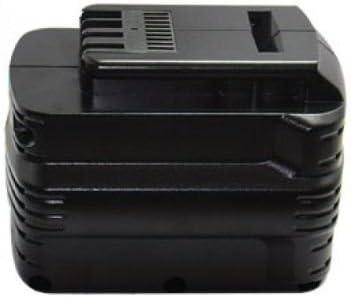 PowerSmart® 2000mAh 24V Ni-MH Batería para DEWALT DW007 K de XE, DW005 K, DW005 K de 2, DW008KH, DW005 K de XE, DW017, DW017 K2, DW017 K2H, DW017 N, compatible con baterías de tipo DE0240, DE0240 de X