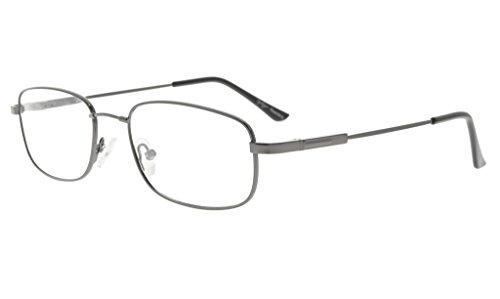 Eyekepper Mens Womens Reading Glasses Bendable Titanium Memory Readers - Titanium Bendable Eyeglasses