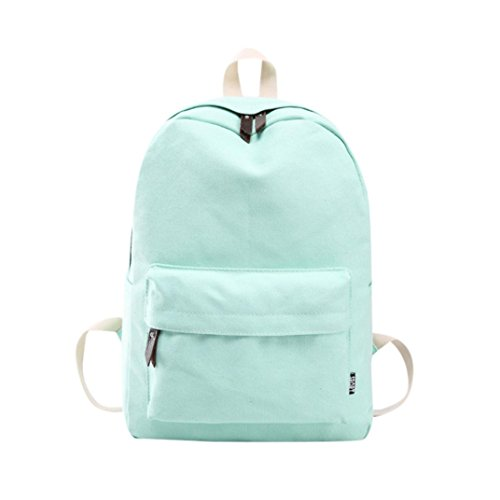 Student Laptop Daypacks,Realdo Couple Canvas Preppy Shoulder Bookbags School Travel Backpack Bag