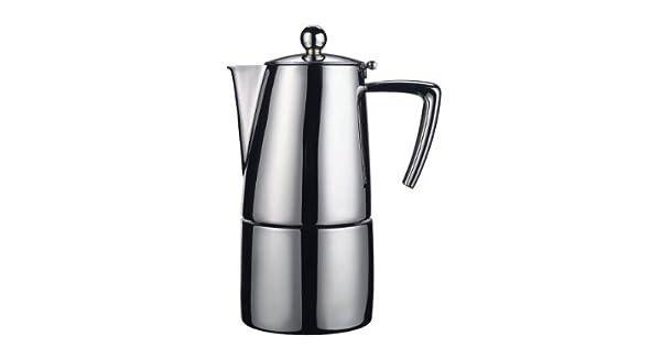 Amazon.com: SLANCIO Espresso Coffee Maker 6 tazas (Acero ...