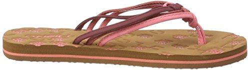 O'neill Fw Hot 3501 Coral Flops Ditsy Flip 3 Rot Infradito Strap Donna r7wrg