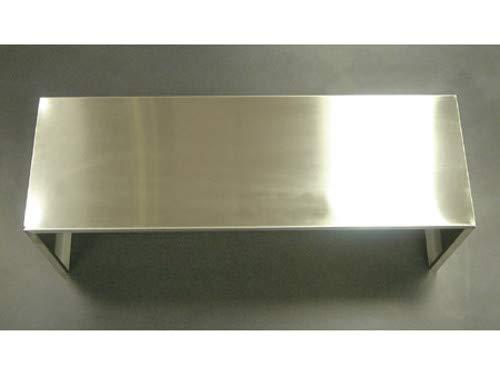 Kobe Range Hoods 283189 3 Speeds Telescopic Venting Duct Cover, Stainless Steel, 12X42
