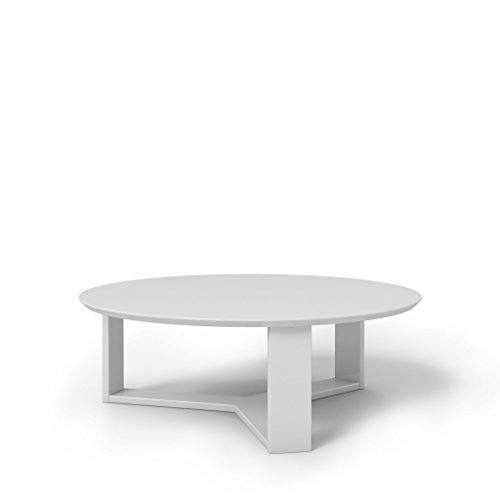 Manhattan Comforts 85051-MC Madison 1.0 Accent Side Coffee Table, White Gloss Review