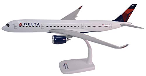 Flight Miniatures Delta Airlines Airbus A350-900 1:200 Scale 2007 Livery Display Model with Stand