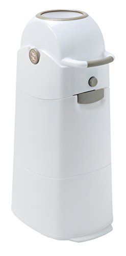 - Diaper Champ Odour-Proof Nappy Bin Medium Silver for Standard Rubbish Bags
