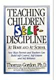 Teaching Children Self-Discipline at Home and at School