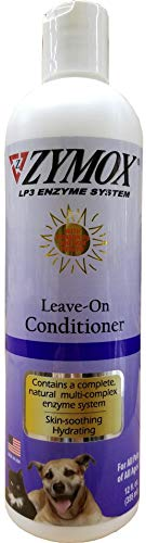 ZYMOX Conditioning Rinse with Vitamin D3 Pet Dog Itch Relief 12 oz Bottle