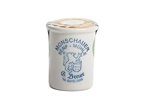 Kräutersenf – Monschauer Senf – 200 ml Mosterd – Kruid mosterd