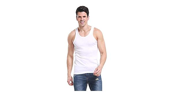 WanYangg Hombre Clásico Camiseta de Tirantes Cómodas ...