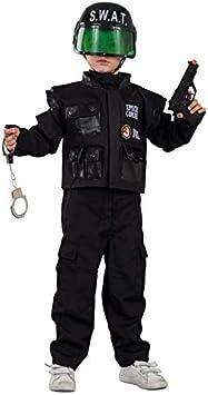 DISBACANAL Disfraz de Policía Swat Infantil - -, 2 años: Amazon.es ...