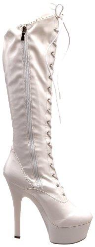 Women's The White Boot Wonder Highest Platform Stretch Heel Patent qEwTpAz