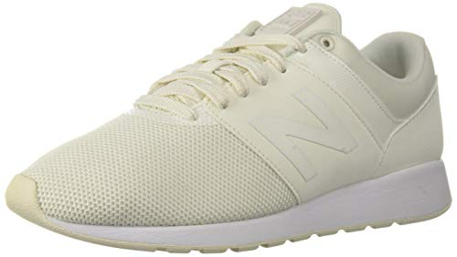 (New Balance Womens 24v1 Sneaker, sea Salt/White, 6 W US)