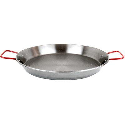 Carbon On Steel 24'' Paella Pan (15-25 Servings)