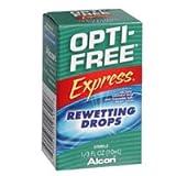 opti free express - OPTI-FREE EXPRESS Rewetting Drops 10 mL (Pack of 2)