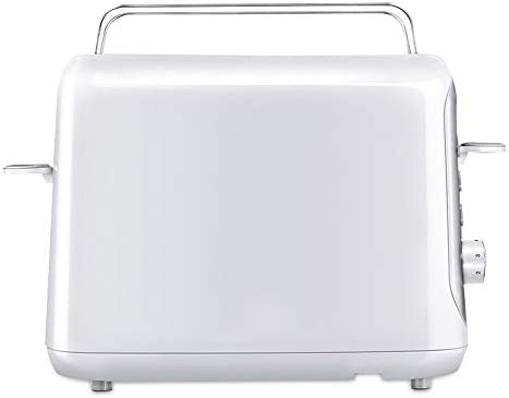 JYDQB Machine à Pain - Grille-Pain Large à 2 tranches Home, Grille-Pain Compact avec 7 réglages de Stores, ramasse-miettes Amovible