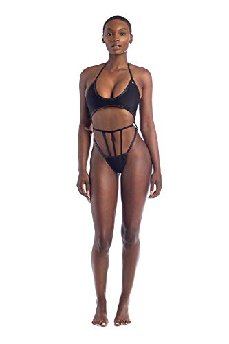 Bikini Bikini Woman Bain fashion coloré Noir Maillot Taille Suit Medium Fuweiencore Noir De WAS6yBqBZ