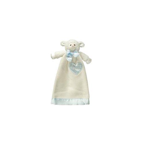 "Komet Creations Lovie Babies Lenny Blue Lamb Blanket - 15""x9""."