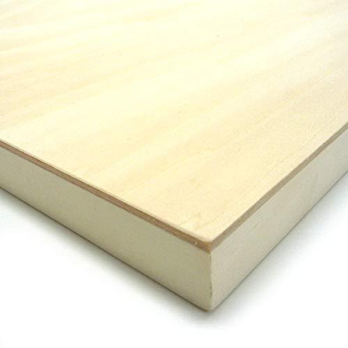 木製パネル シナベニヤパネル S-SM (227×227mm) 60枚パック