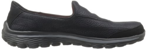 Skechers Go Walk 2, Damen Sneakers, XX Schwarz (Black)