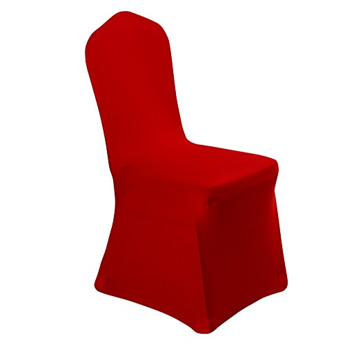 Stretch Polyester Dining Chair Cover for Wedding Banquet