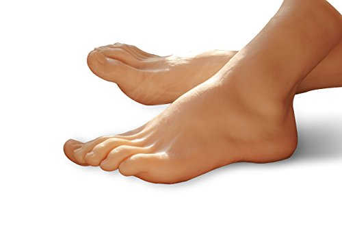 Male feet Foot model Real Scale Super Realistic Foot Mask Photography Store Product Exhibition Teaching Appliance Design Exercise Model Manicure Exercise etc. Widely Used by no!no!