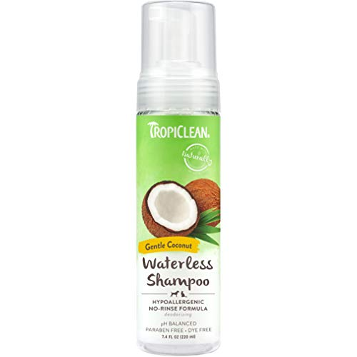 TropiClean Waterless Shampoos for