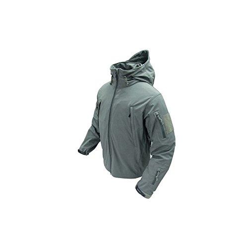 Condor 602-018 : Summit Soft Shell Jacket Graphite Extra Large