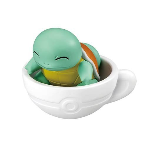 Pokemon XY & Z Pokemon tea cup time mascot gashapon 5. Squirtle separately by Japan Import (Image #2)