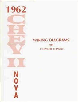 1962 chevy ii & nova wiring diagram manual reprint paperback – 1962