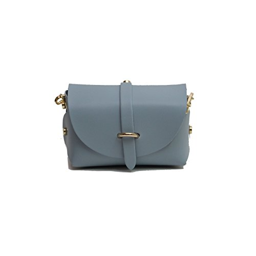 A Bag Of Evening Clutch Beautifully Designed-ado With Detachable Strap Gold Chain With Fastener Belt-n Blue Pale