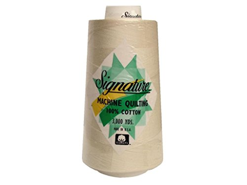 Signature Thread Signature 100% Ctn Quilt Thread 3000yd Parchment Cotton 3000 Piece (SIG47.3)