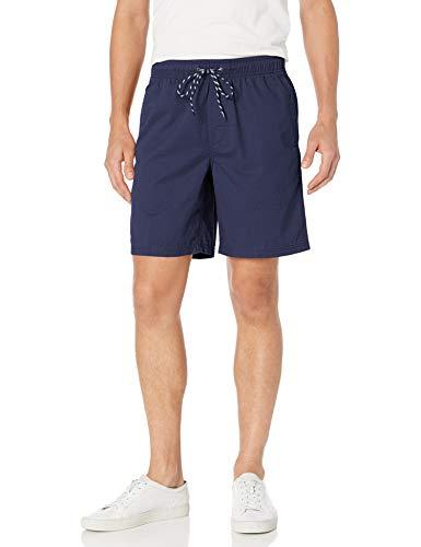 Amazon Essentials Men's Drawstring Walk Short, Navy, Large