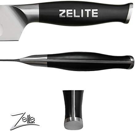 Zelite Infinity, Pelador Verduras Multiuso de 13 cm – Utensilios Cocina Serie Comfort-Pro – Acero Inoxidable Alemán de Alto Contenido en Carbono – Cuchillos Cocina con Filo de Navaja, Supercómodos