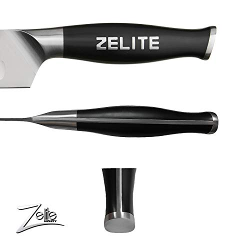 Zelite Infinity Slicing Carving Knife 12 Inch - Comfort-Pro Series - German High Carbon Stainless Steel - Razor Sharp, Granton Edge, Super Comfortable