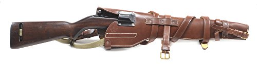 Scabbard Saddle Rifle (US WW2 M1 Carbine Leather Scabbard marked JT&L 1944 (scabbard only))