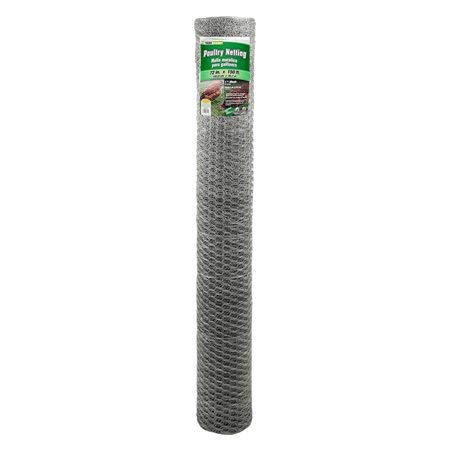 YARDGARD 72 inch by 150 Foot 20 Gauge 2 inch Mesh Poultry Netting (20 Gauge Netting Poultry)