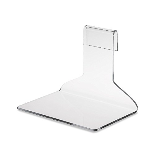 Source One Clear Acrylic Gridwall Shelf Displays 4.5 Inch & 6 Inch Wide Available Perfect for Displays (6 Pack, 6 Inch Wide) by SOURCEONE.ORG