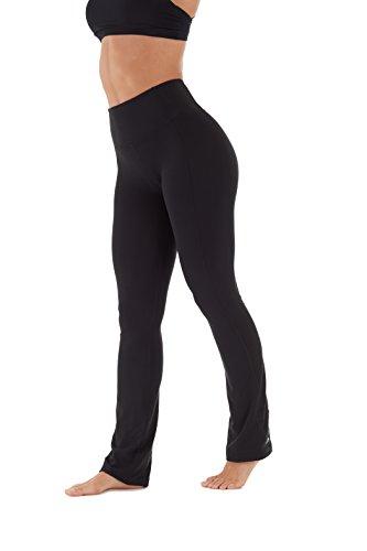 Marika Women's Sophia High Rise Tummy Control Pant, Black, Large