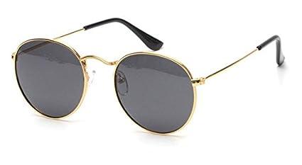 fb48108596c24 Amazon.com   New Women Retro Round Alloy Frame Sunglasses Brand ...