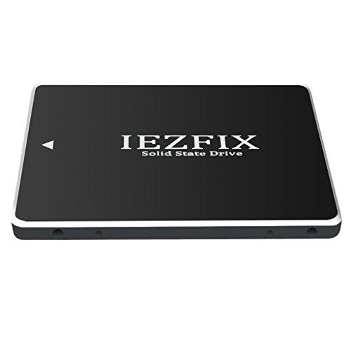 IEZFIX SSD 60GB SATA 3 III Internal Solid State Drive TLC NAND Flash (2.5 inch 7mm H) for Desktop Laptop (60GB) by iezfix