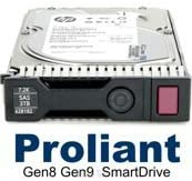 Certified Refurbished EF0600FARNA Compatible HP G8 G9 600-GB 6G 15K 3.5 SAS SC
