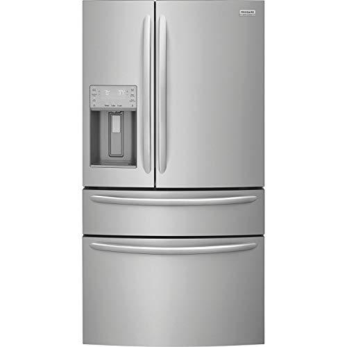 (Frigidaire FG4H2272UF 22.2 CF Counter-Depth French Door Refrigerator Stainless Steel )