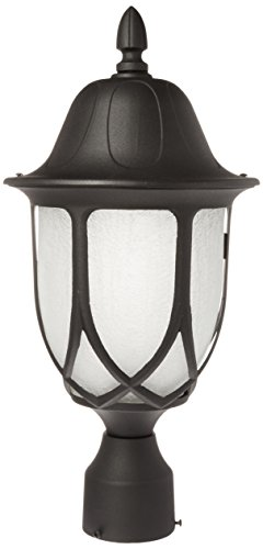 Designers Fountain 2866-BK Capella Post Lanterns, Black For Sale
