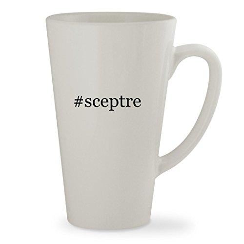 Price comparison product image #sceptre - 17oz Hashtag White Sturdy Ceramic Latte Cup Mug