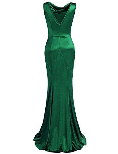 MUXXN Womens 30s Brief Elegant Mermaid Evening Dress