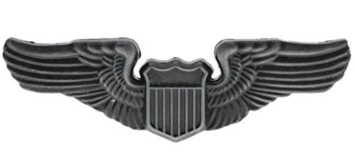 Sujak Military Items Pilot Aviator Wings Large