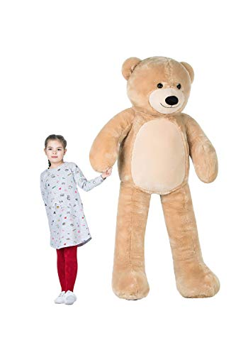 WOWMAX Giant Huge Teddy Bear Cuddly Stuffed Plush