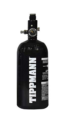 Tippmann Empire Basics 48ci 3K Paintball Tank- New 2019 Upgraded Version - Globally Certified by Tippmann