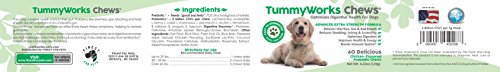 Cheapest TummyWorks Probiotic Chews for Dogs excellent very soft Chews Supplement To Relieve Diarrhea Yeast Infections Itching face Allergies Bad Breath Boosts Immunity Added Digestive Enzymes Made in USA 60 Check this out