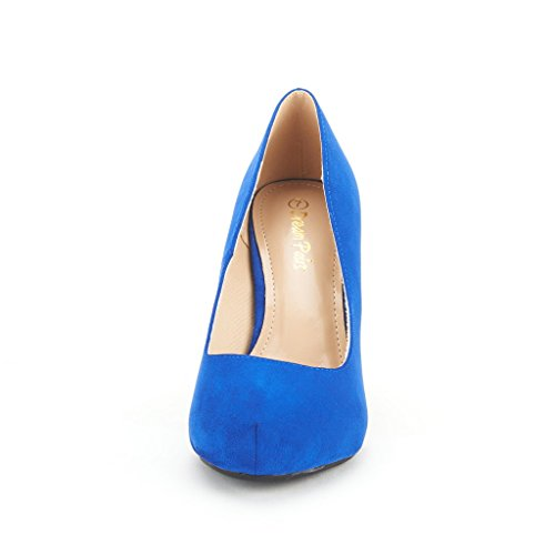 Party Platform Pump Wedding Glitter PAIRS ROMA Bridal Shoes royalblue Low 1 Heel DREAM Rhinestone Women's Tiffanny nFYPwSSq